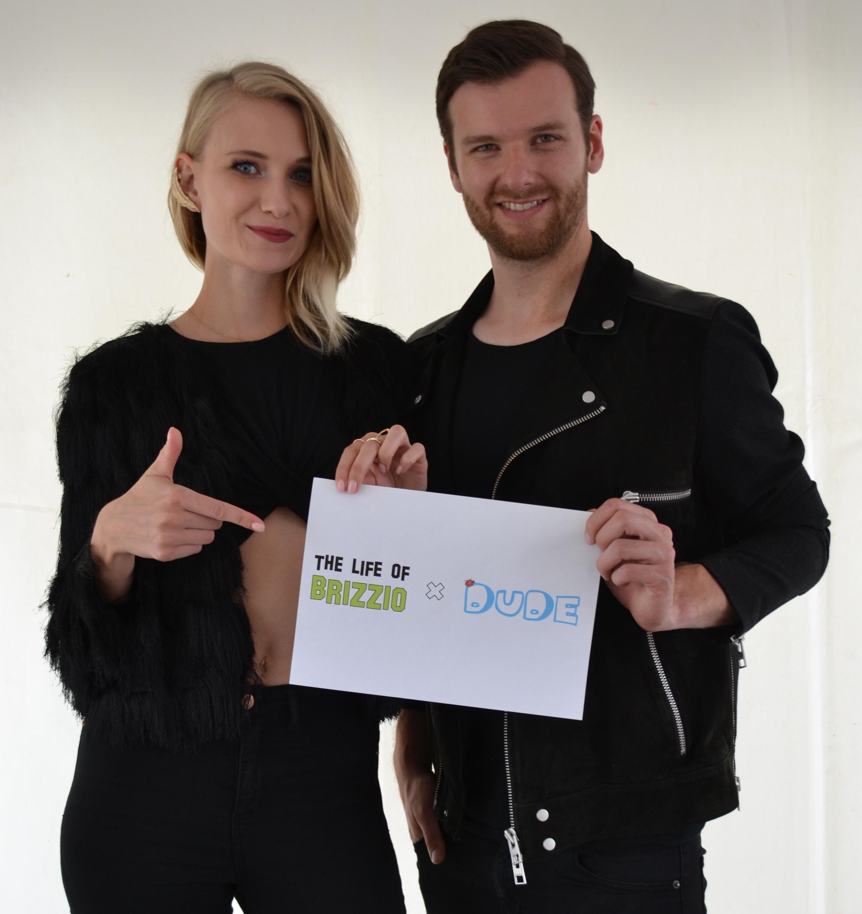 """Carolin Niemczyk und Daniel Grunenberg von """"Glasperlenspiel"""""""